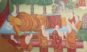 Parinirvana des Buddha