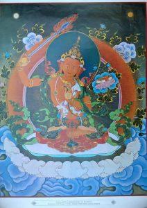 Poster_600-013_Manjushri