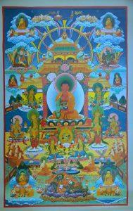 Poster_600-015_und 017_Dewachen_Amitabha