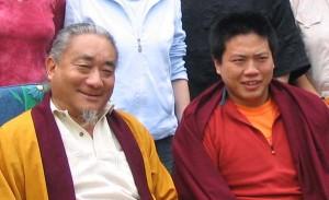 Ontul und Ratna Rinpocche
