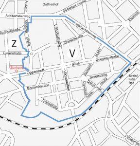 Karte Parkzonen