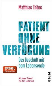 550-016 Thöns, Patient ohne Verfügung Cover